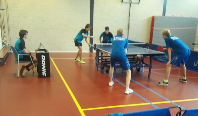 De tafeltenniscompetitie is weer van start gegaan, met als uitspringer dit jaar het eerste jeugdteam dat Landelijk is gaan spelen na het kampioenschap vorig seizoen in de Hoofdklasse.